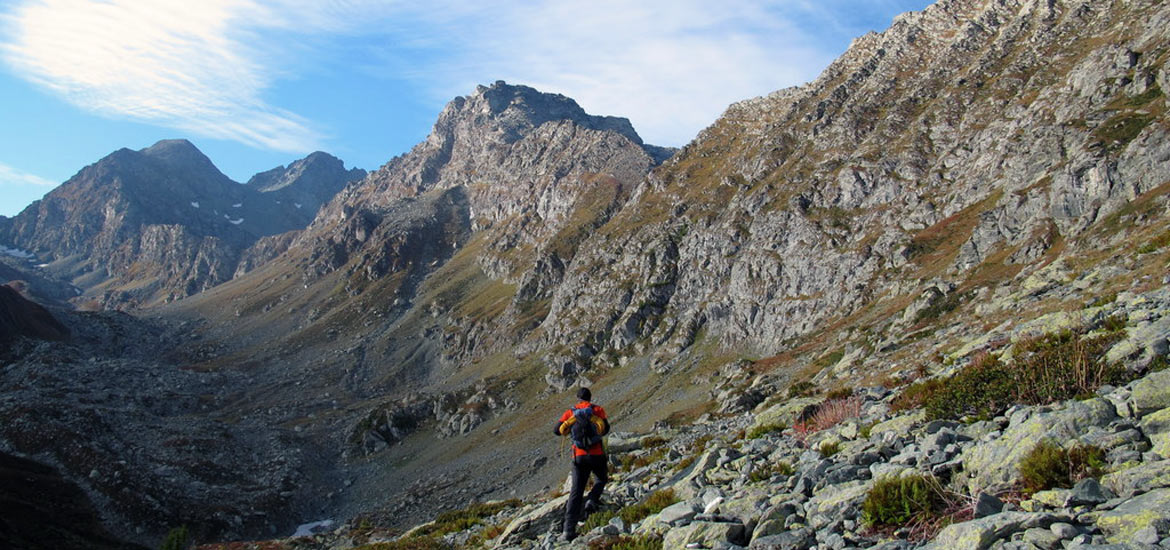 Hiking, trekking and walking tours in Italy