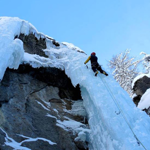 Ice climbing tours and excursions in Italy