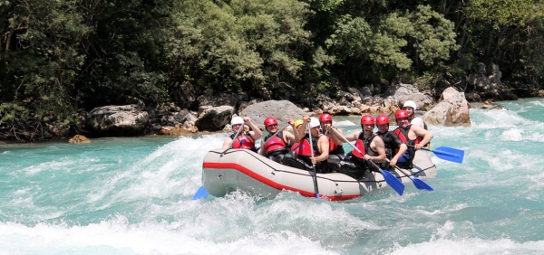 Tour of Turin and rafting/canyoning experience in the rivers of Piedmont