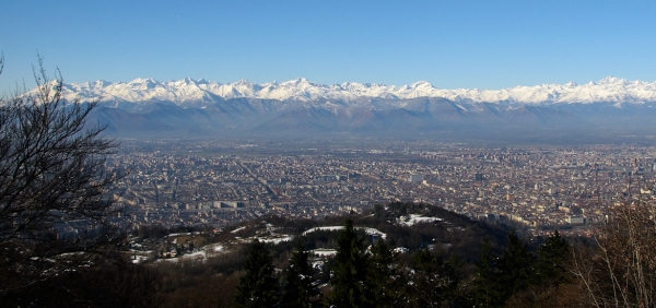 Cycling and e-bike excursion in Turin Hills - Maddalena and Superga Hill