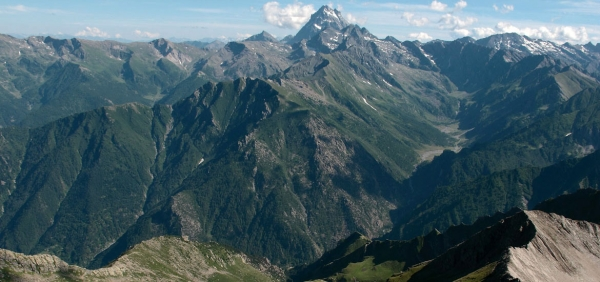 Hiking in Val Pellice, Alps of Piedmont: Tour of the 3 mountain huts