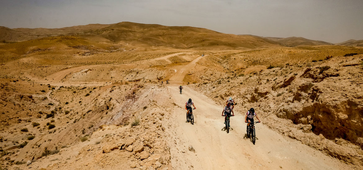 Mountain bike in Giordania - Tour Jordan Bike Trail