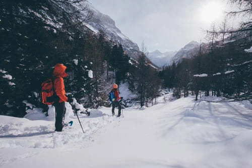 Piedmont: snowshoeing excursions and tours