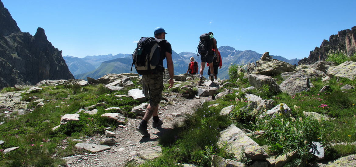 Hiking, trekking and walking tours in Aosta Valley