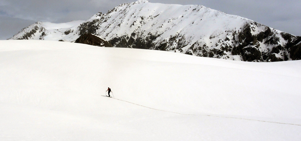Ski touring raids in Aosta Valley