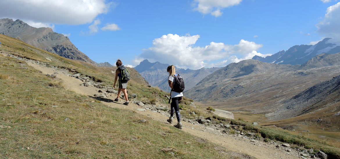 Hiking, trekking and walking tours in Gran Paradiso