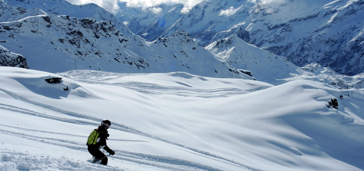 Escursioni, tour e weekend di sci freeride e snowboard fuoripista in Italia