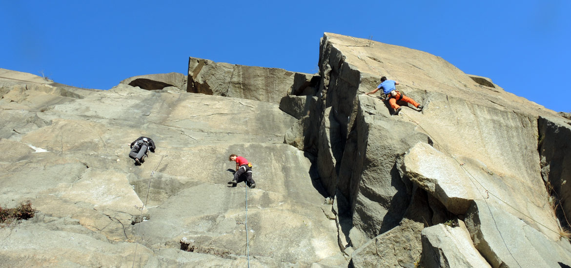 Rock climbing excursions and tours in Italy