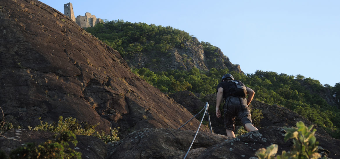 Via ferrata excursions and tours near Turin