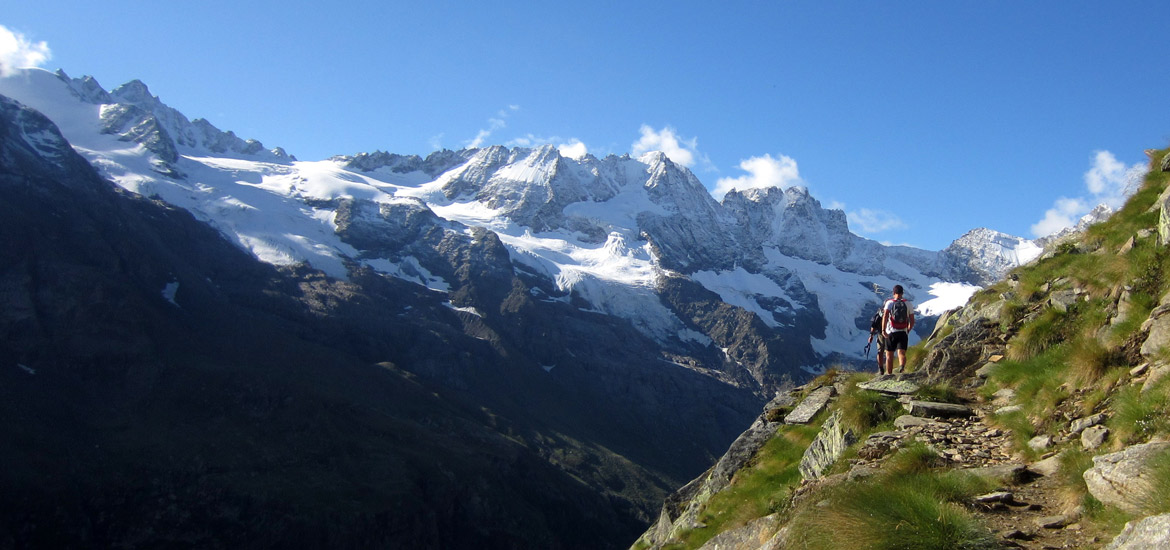 Outdoor travels and tours in Aosta Valley