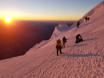 Mountaineering in Italy - group excursions and tours
