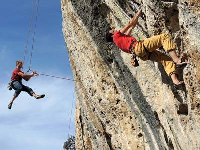 Rock Climbing in Italy - group excursions and tours