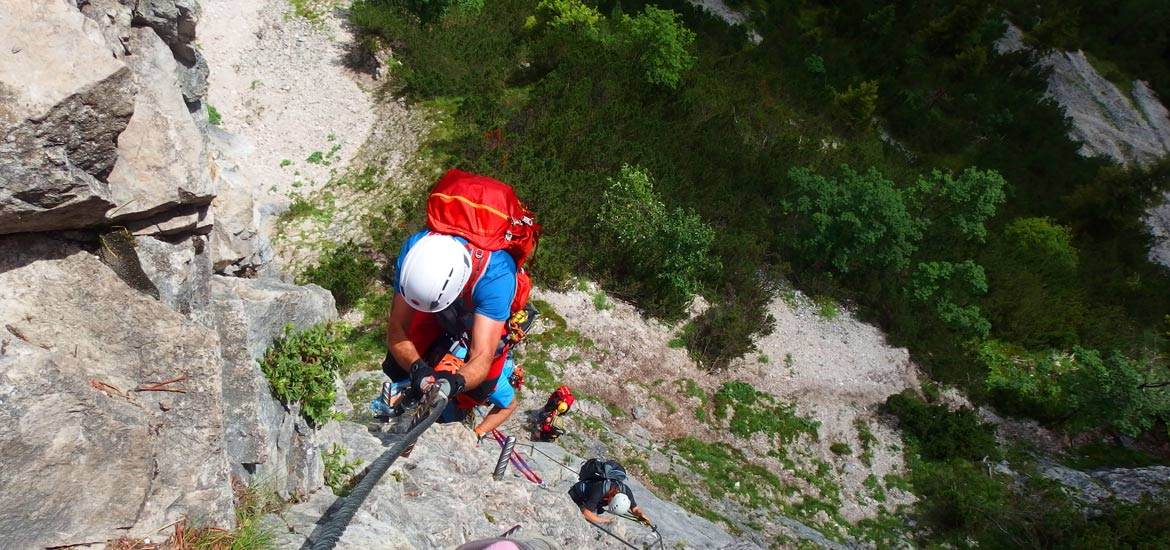 Via Ferrata routes in the Alps of Italy: group tours and excursions