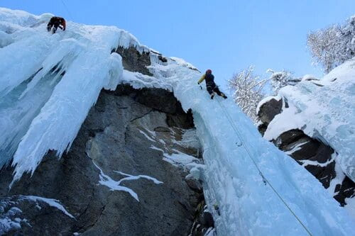 Ice climbing experiences and tours