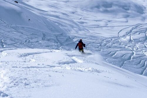 Freeride skiing and snowboarding experiences and tours