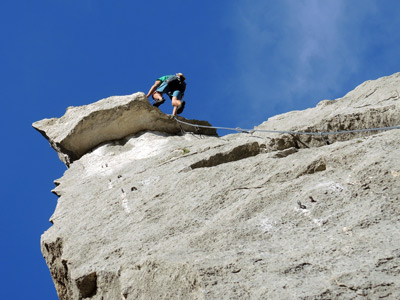 Finale Ligure rock climbing weeekend with Alpine Guides