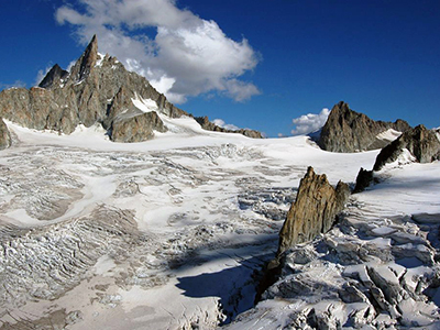 Mont Blanc Glacier excursion with guides