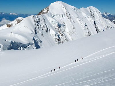 Mountaineering in Italy - Monte Rosa summit climb