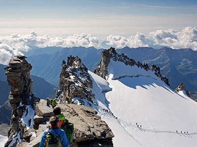 Mountaineering in Italy - Gran Paradiso