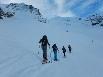 Gran Paradiso National Park: Ski tour and summit climb