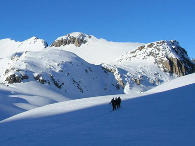 Val Maira: ski touring holiday in the Alps