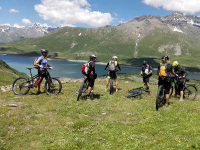 MTB or E-bike tour in Piedmont - Susa Valley