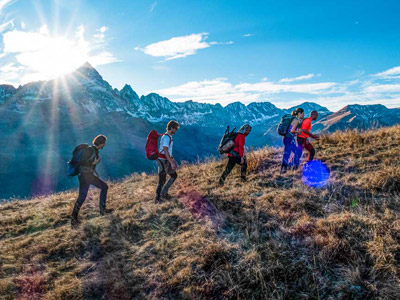 Hiking in the Alps - The Monviso Circuit