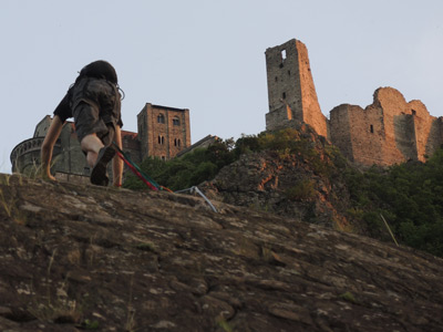 Sacra di San Michele: via ferrata route excursion with Alpine Guide