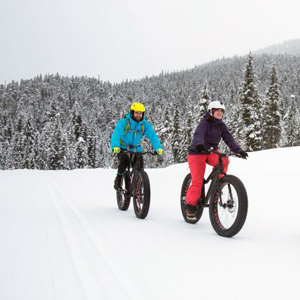 Fatbiking excursions in Italy