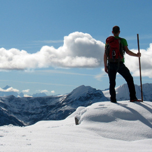 Snowshoeing tours and excursions in Italy