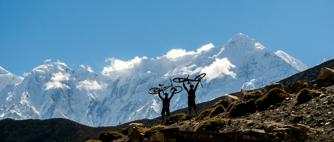 Viaggi e Tour in mountain bike in Nepal