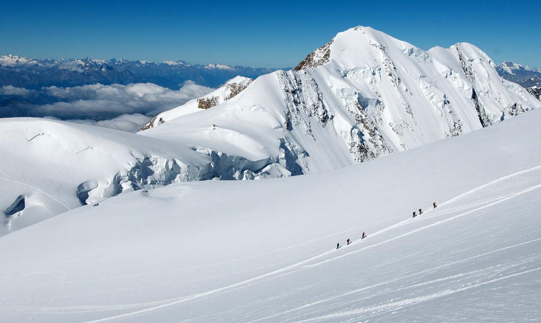 Ufficio Guide Monte Rosa : Salita sul monte rosa capanna margherita con guida alpina