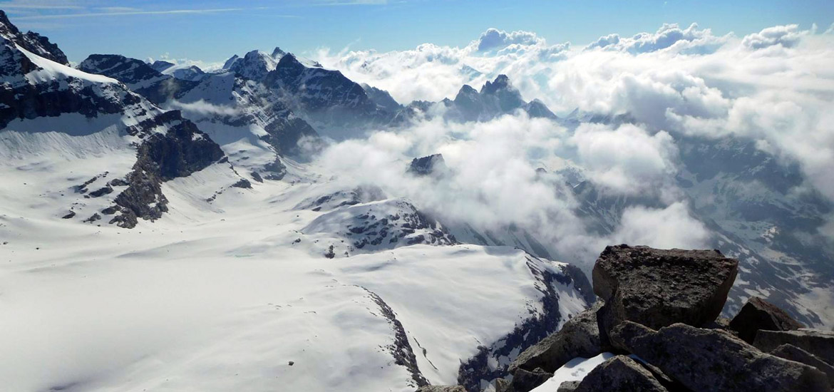 Tresenta summit climb - Mountaineering in the Alps with Mountain Guides