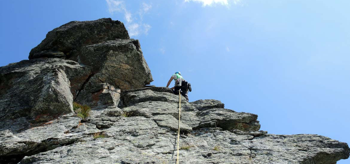 Weekend di arrampicata in Piemonte