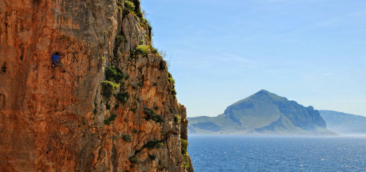 Rock Climbing Holiday in San Vito Lo Capo - Sicily