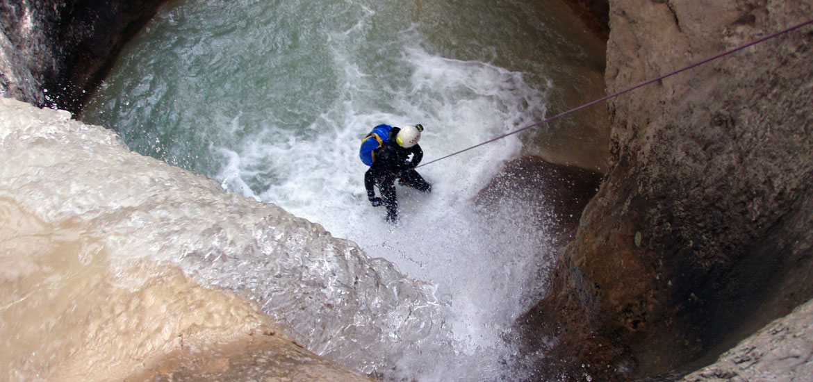 Canyoning experience in Piedmont with guides