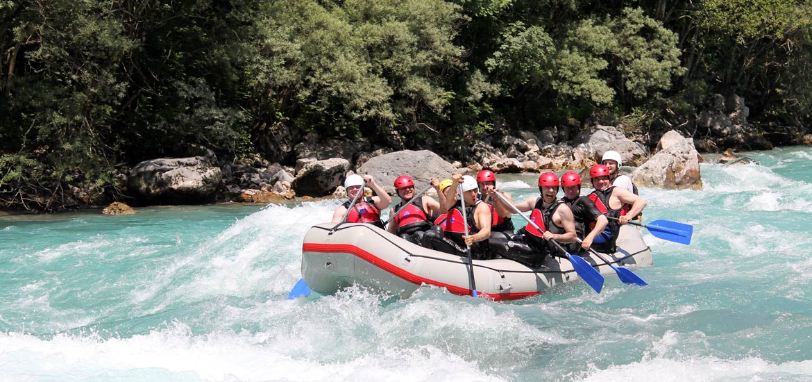 Turin: tour of the city and canyoning/rafting experience in Piedmont with guides
