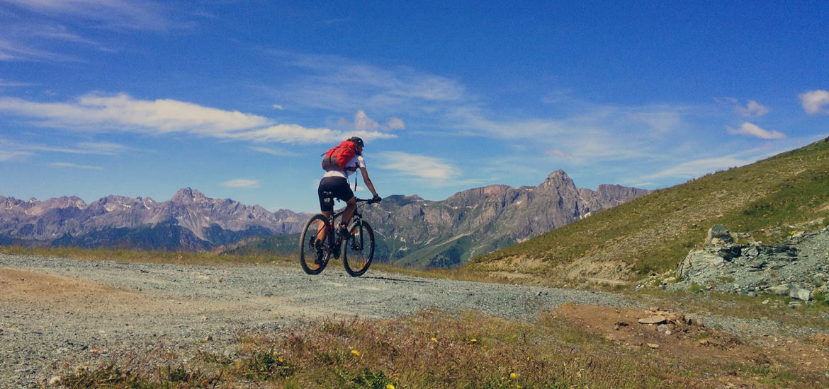 E-bike and MTB tour in Piedmont Alps: Val Maira