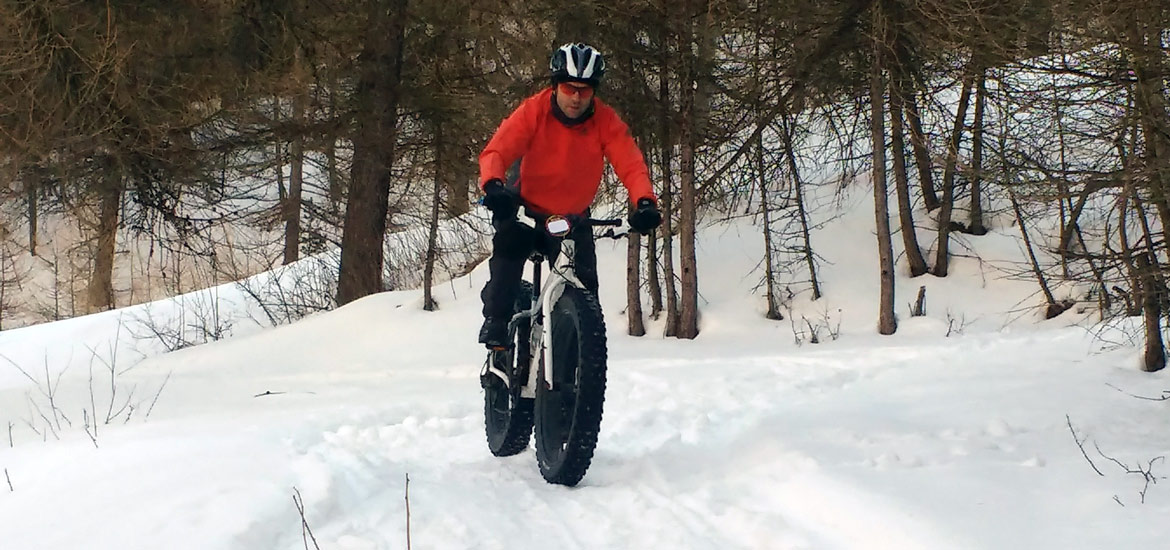 Fatbiking experience in Piedmont Alps