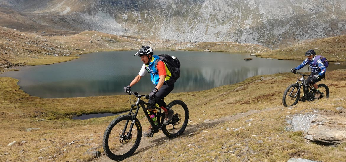 Mountain bike tour of Gran Paradiso National Park