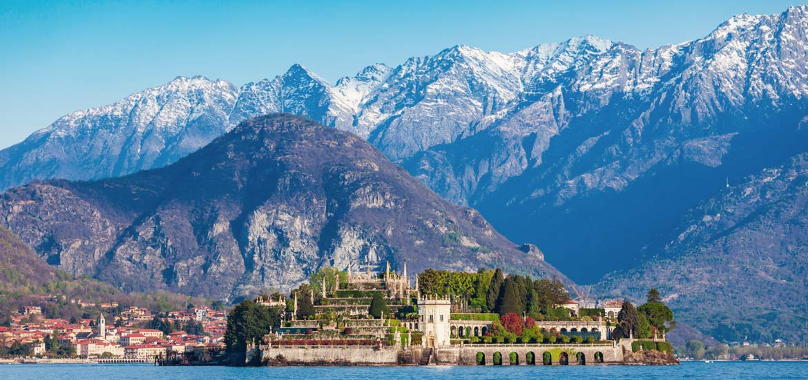 Piedmont bike tour: Lake Maggiore, Lake Orta: the towns and the mountains