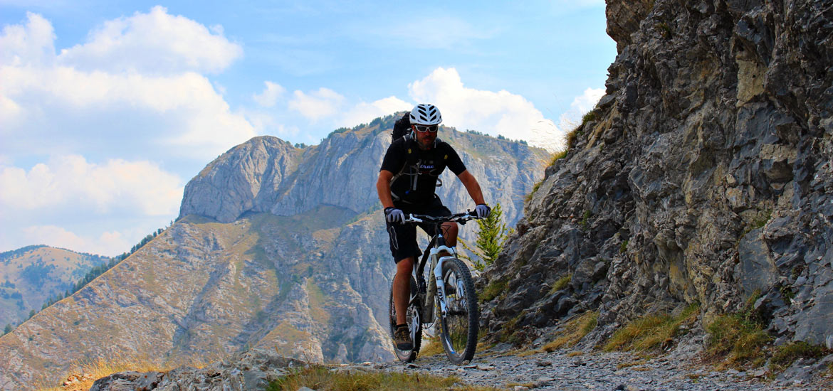 E-bike in Piedmont and Liguria: Via del Sale mtb tour