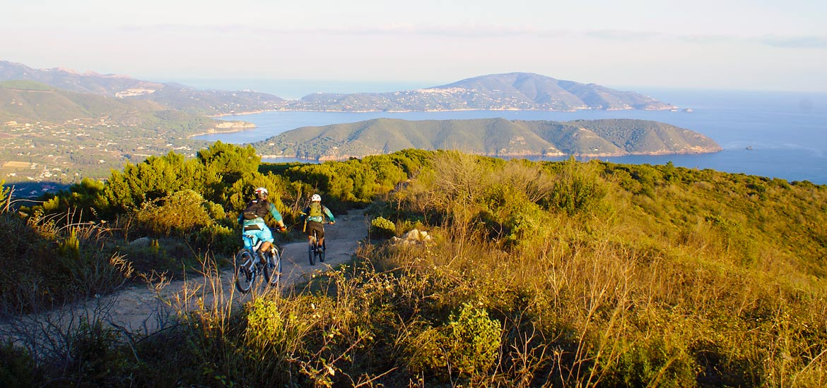 Tour in mountain-bike dell'Isola d'Elba