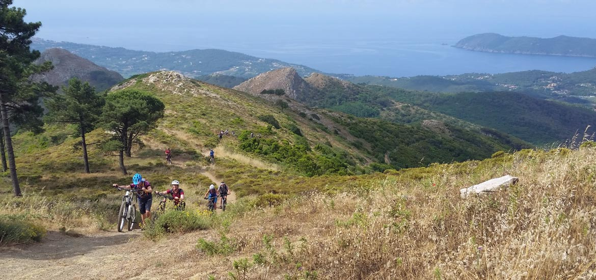 Tour in mountain bike dell'Isola d'Elba