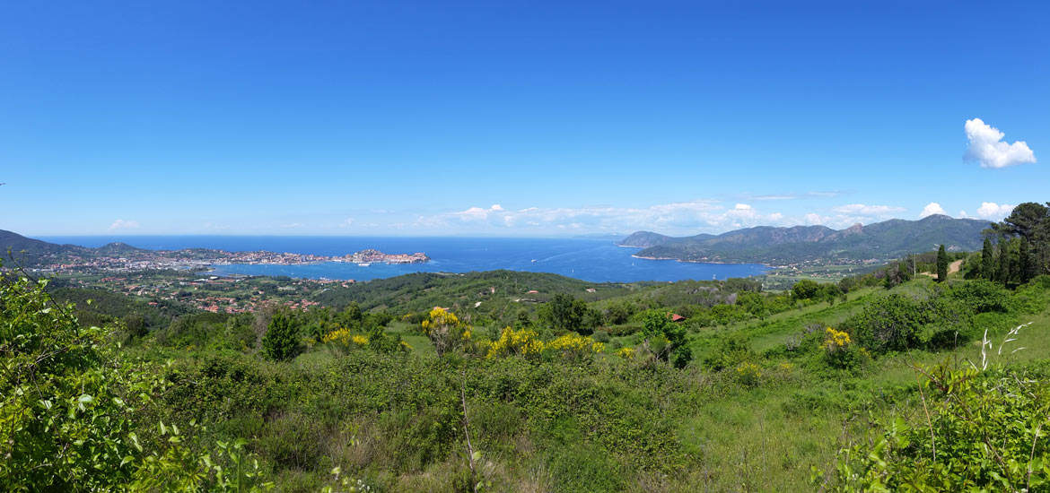 Isola d'Elba single track MTB tour