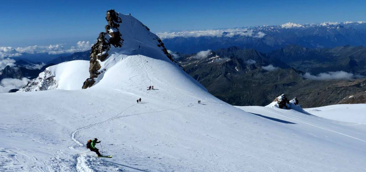 Monte Rosa ski touring weekend