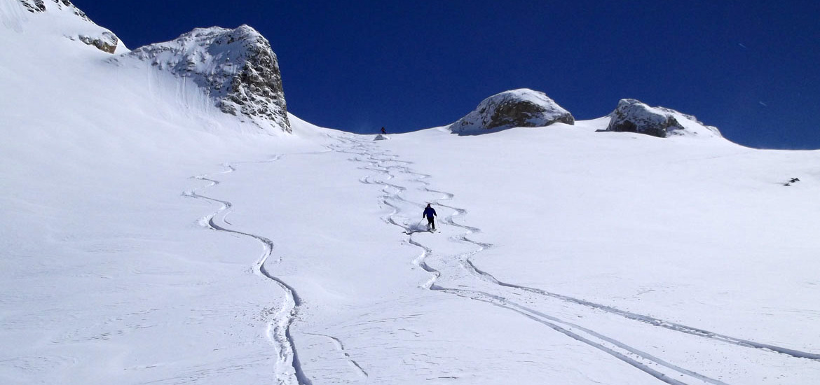 Ski touring in Gran Paradiso National Park