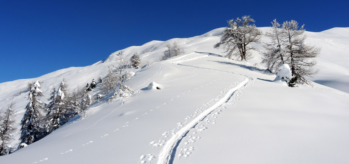 Ski touring in Piedmont Alps and tour of Turin