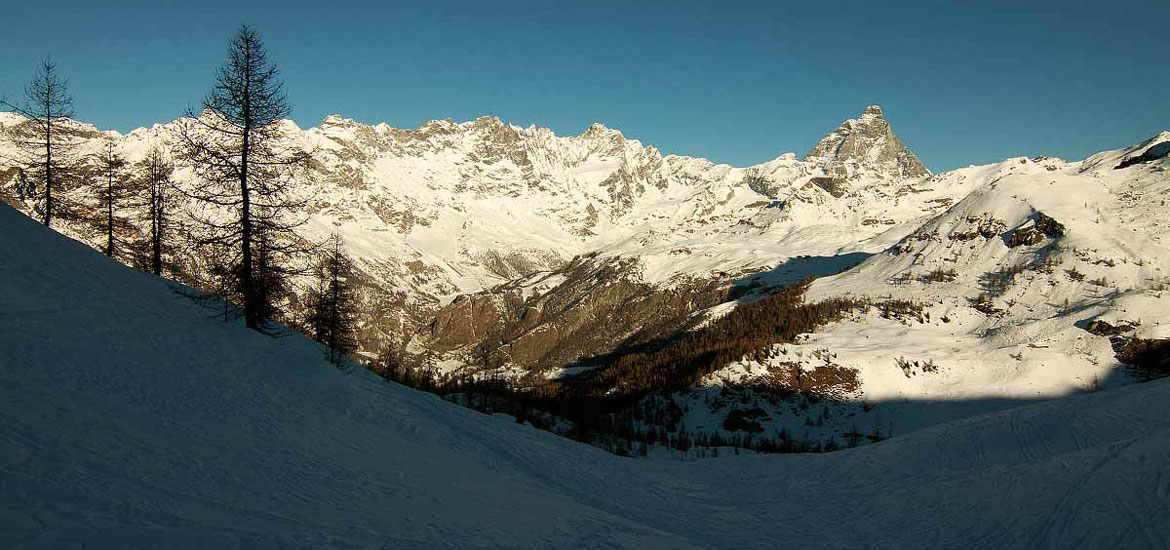 Aosta Valley Alps: snowshoeing hiking holiday