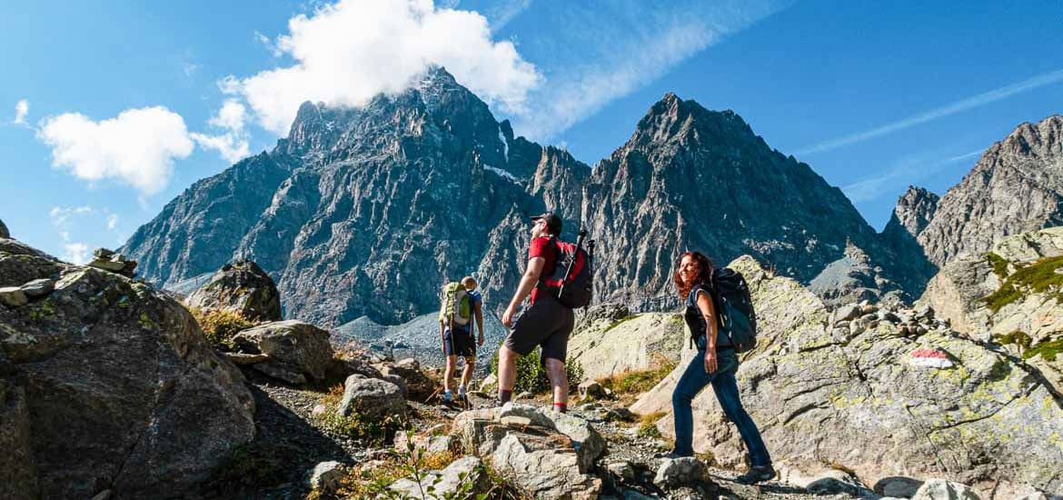 Hiking on the Monviso circuit